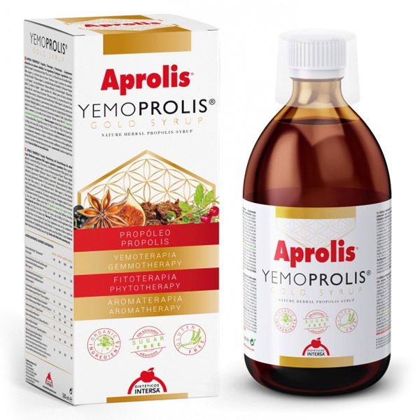 Yemoprolis gold syrup, Intersa 500 ml.