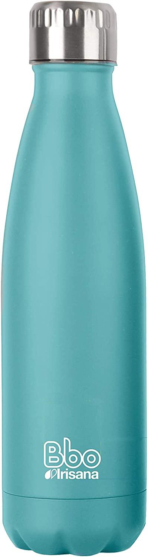 Botella termo de acero inox azul BBO