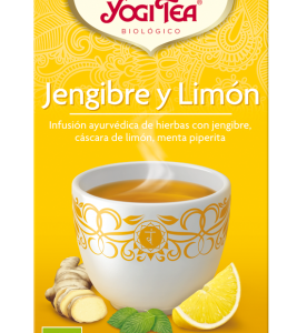 YOGI TEA Jengibre, limón, chai
