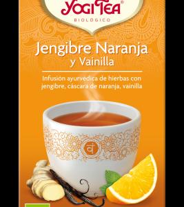 YOGI TEA Jengibre, naranja y vainilla