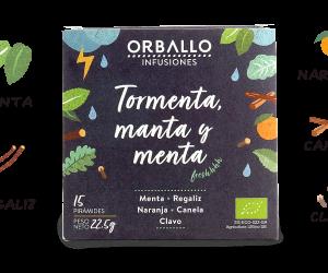 """ORBALLO """"Tormenta, manta y menta"""""""
