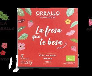 """ORBALLO """"La fresa que te besa"""""""