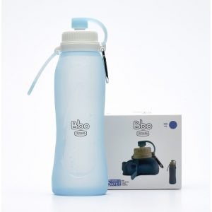 Botella plegable de silicona 500 ml